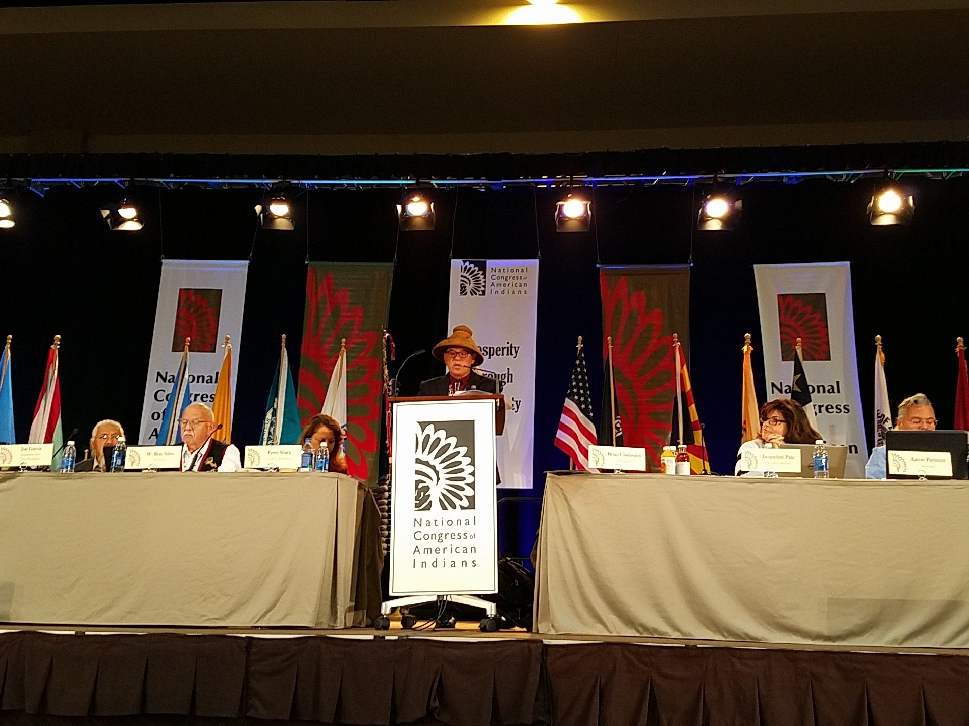 Mary Annette Pember: Tribal leaders meet for NCAI convention