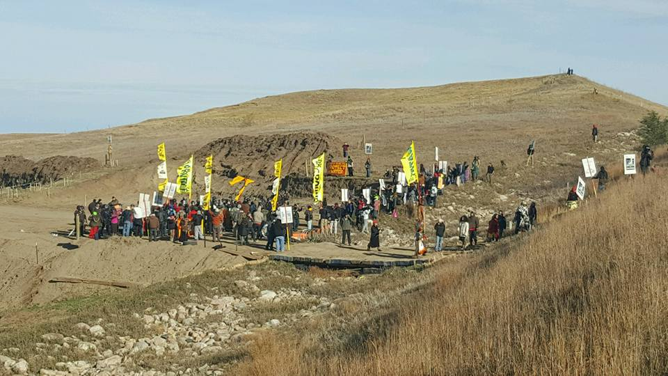 Standing Rock Sioux Tribe calls for prayer amid additional arrests