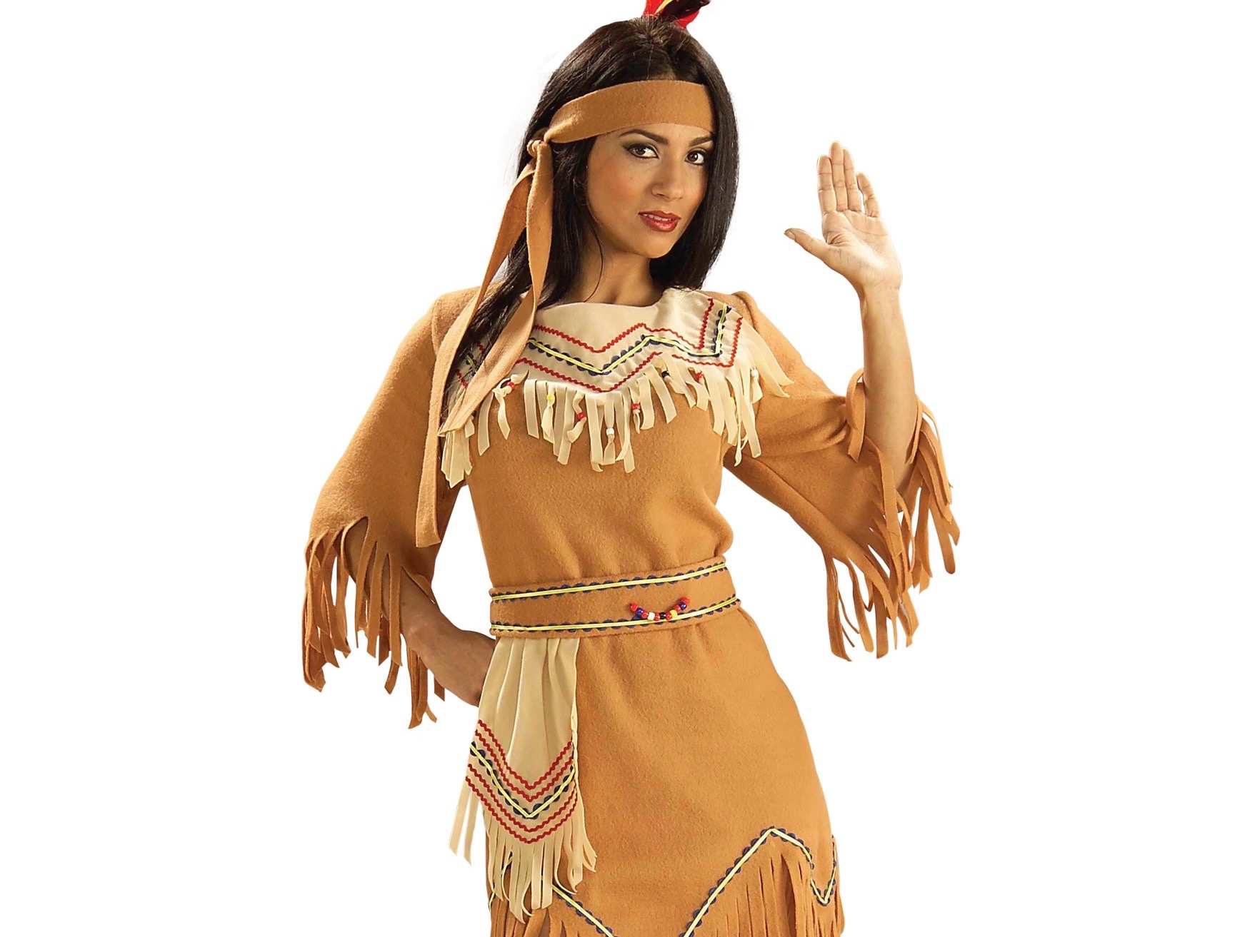 Native american maiden costume was and