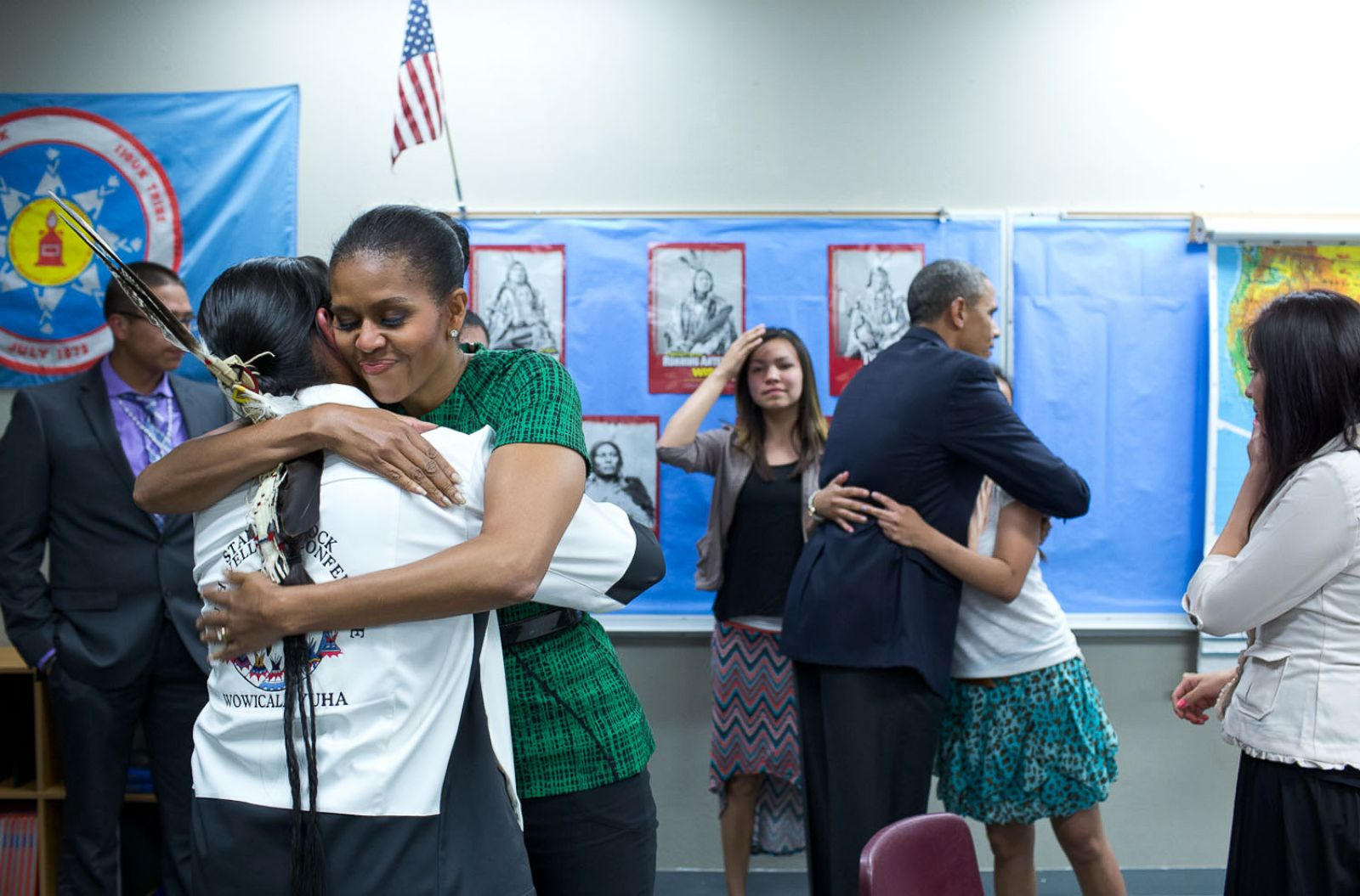President Barack Obama names first members of Native youth commission