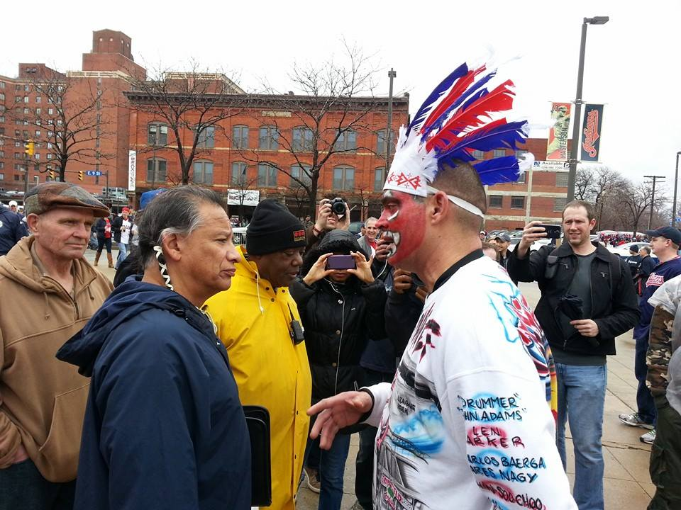Native architect in Canada files complaint over U.S. baseball team's racist mascot