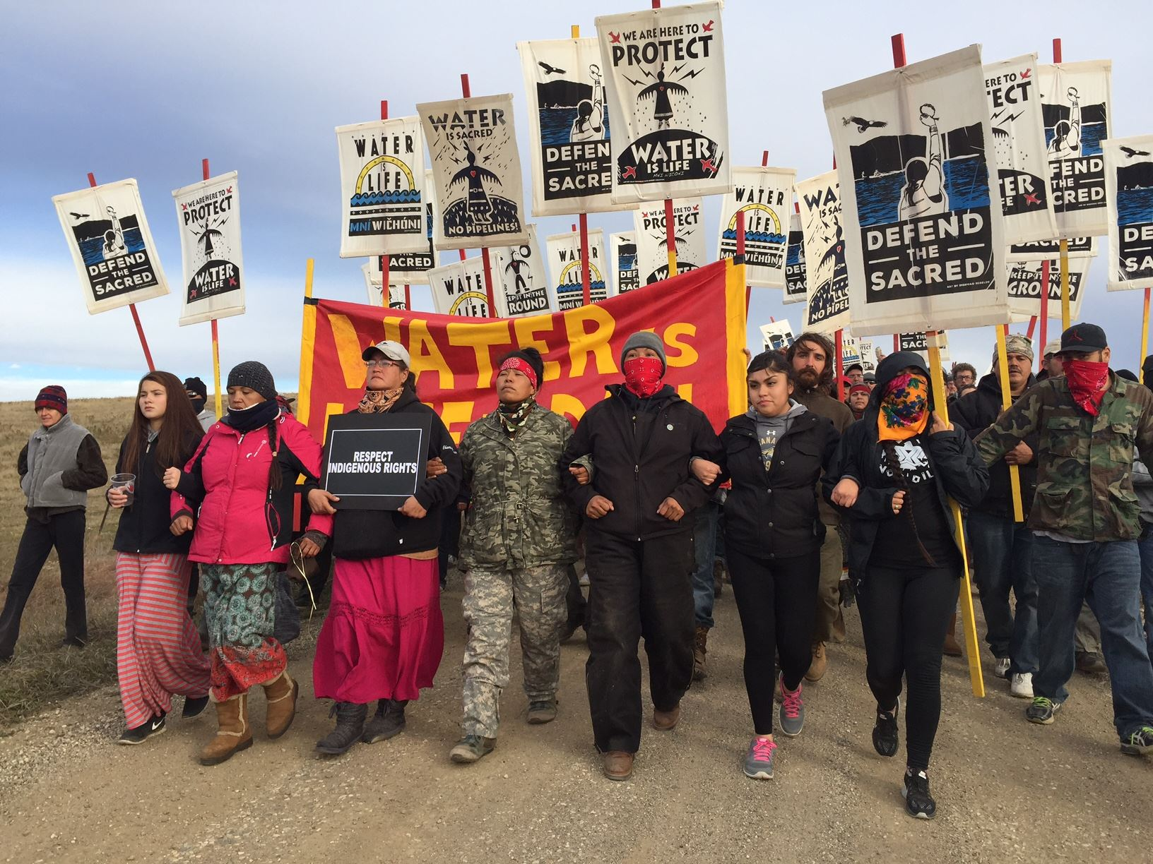 Democracy Now: Standing Rock Sioux Tribe chairman was strip-searched for resisting Dakota Access Pipeline