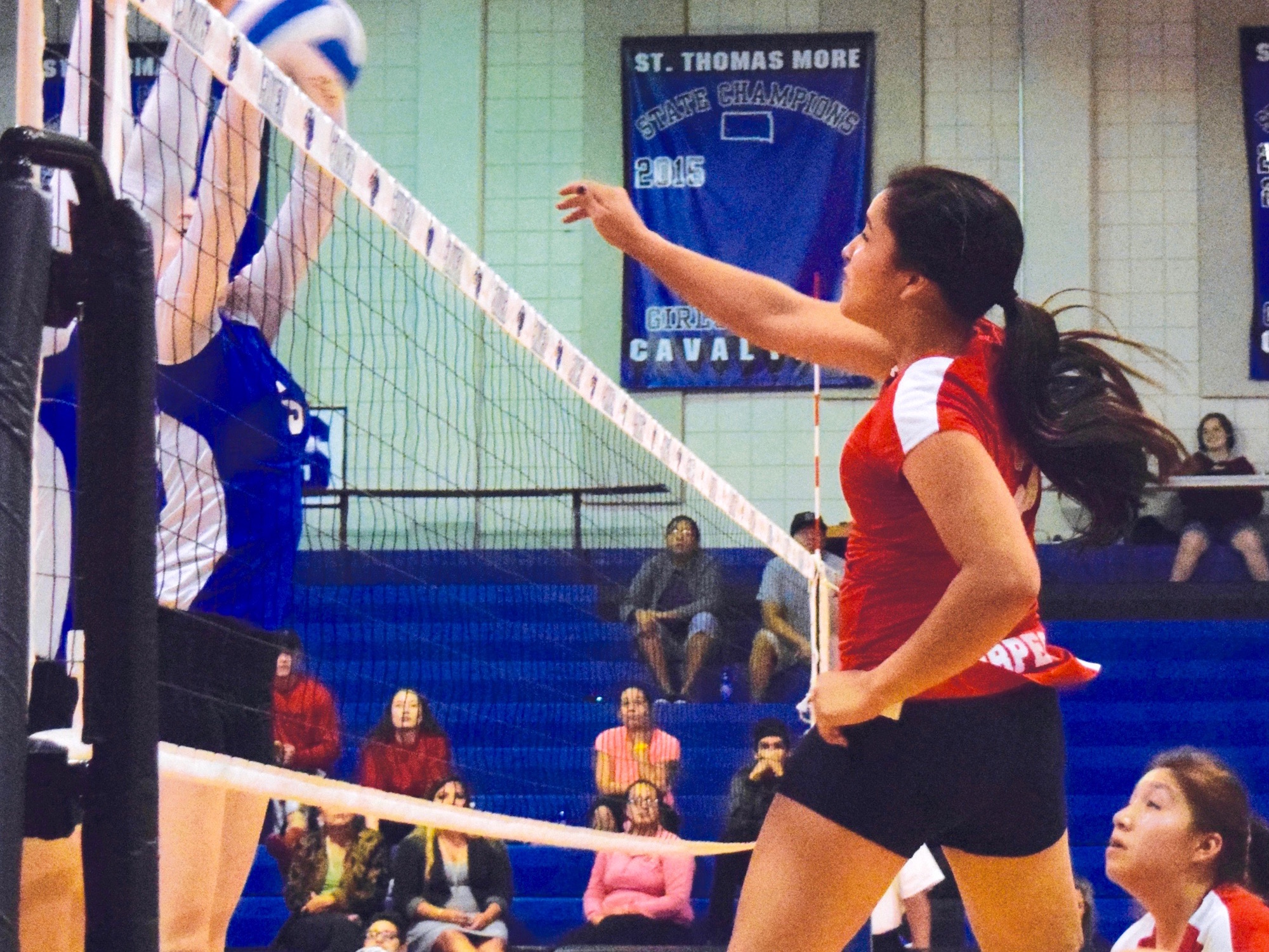 Native Sun News Today: Lakota Nation Invitational hosts girls volleyball tournament