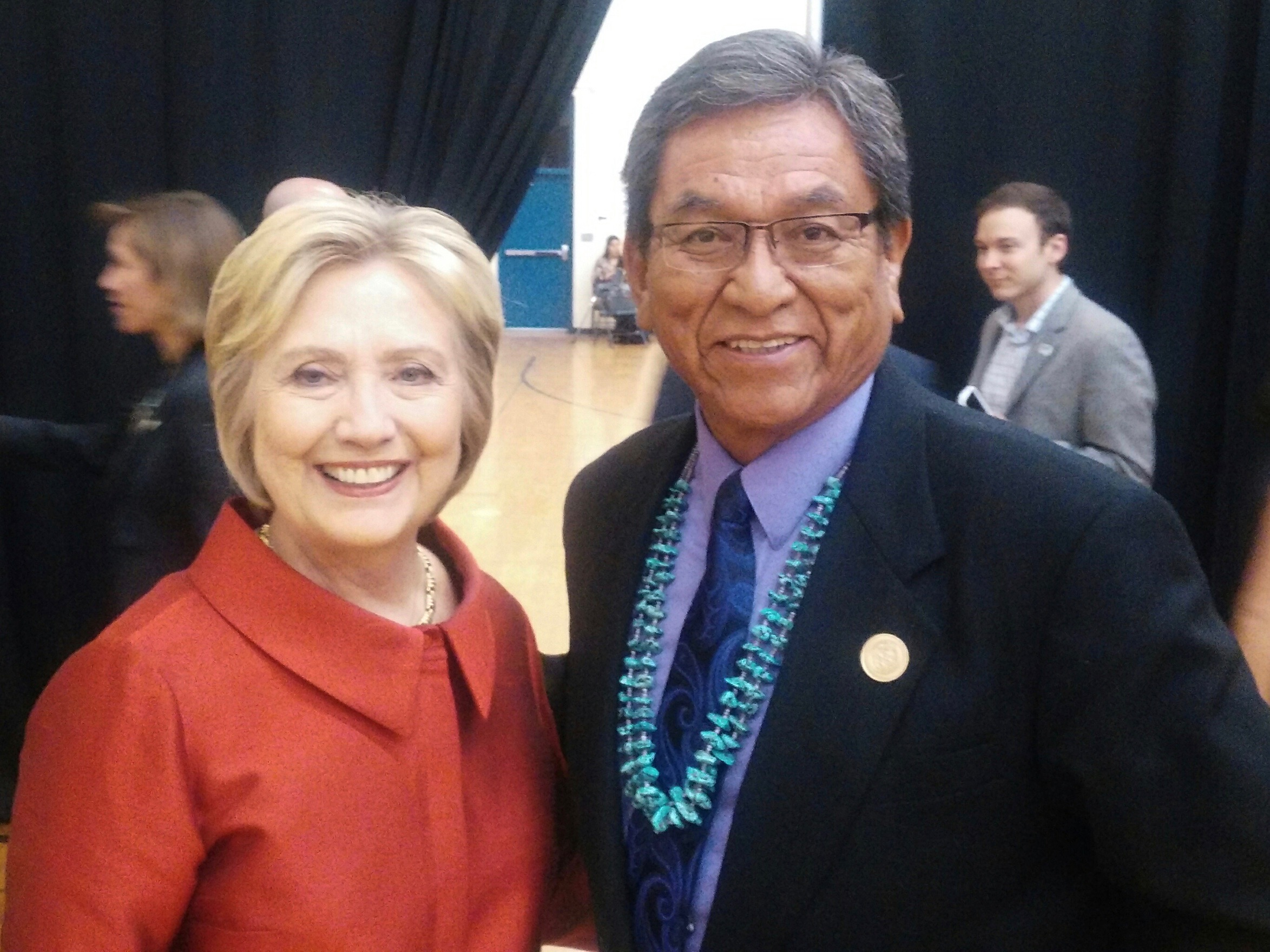 Navajo Nation President Russell Begaye endorses Hillary Clinton