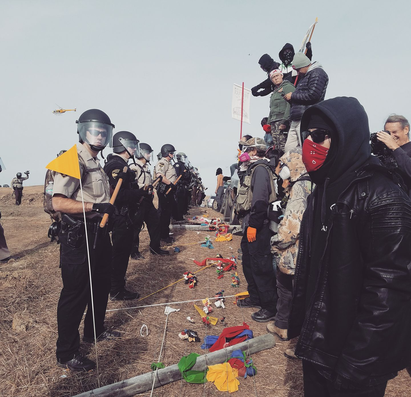 Mark Trahant: More injustice as police move in at Standing Rock