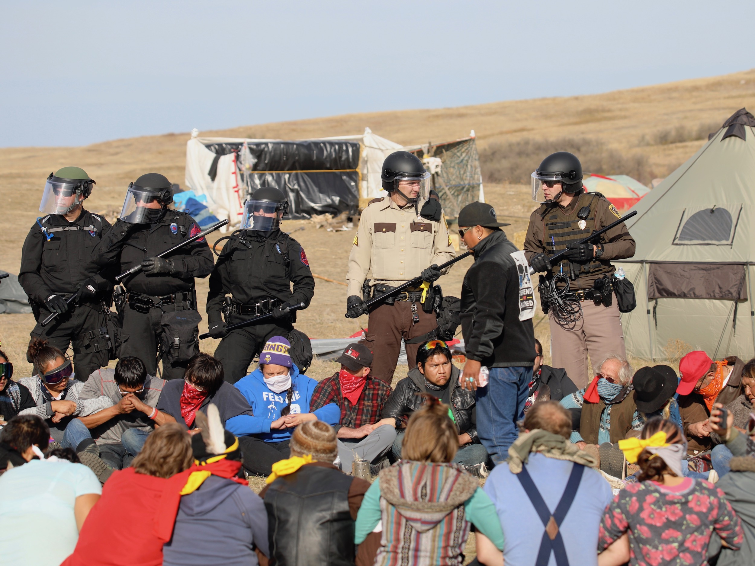 Tim Giago: Water protectors must continue to remain peaceful as #NoDAPL fight continues