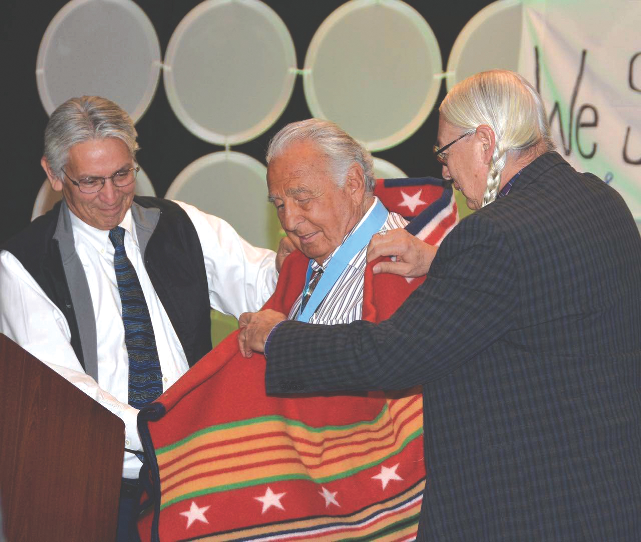 Native Sun News Today: Ben Nighthorse Campbell honored as 'Trailblazer'