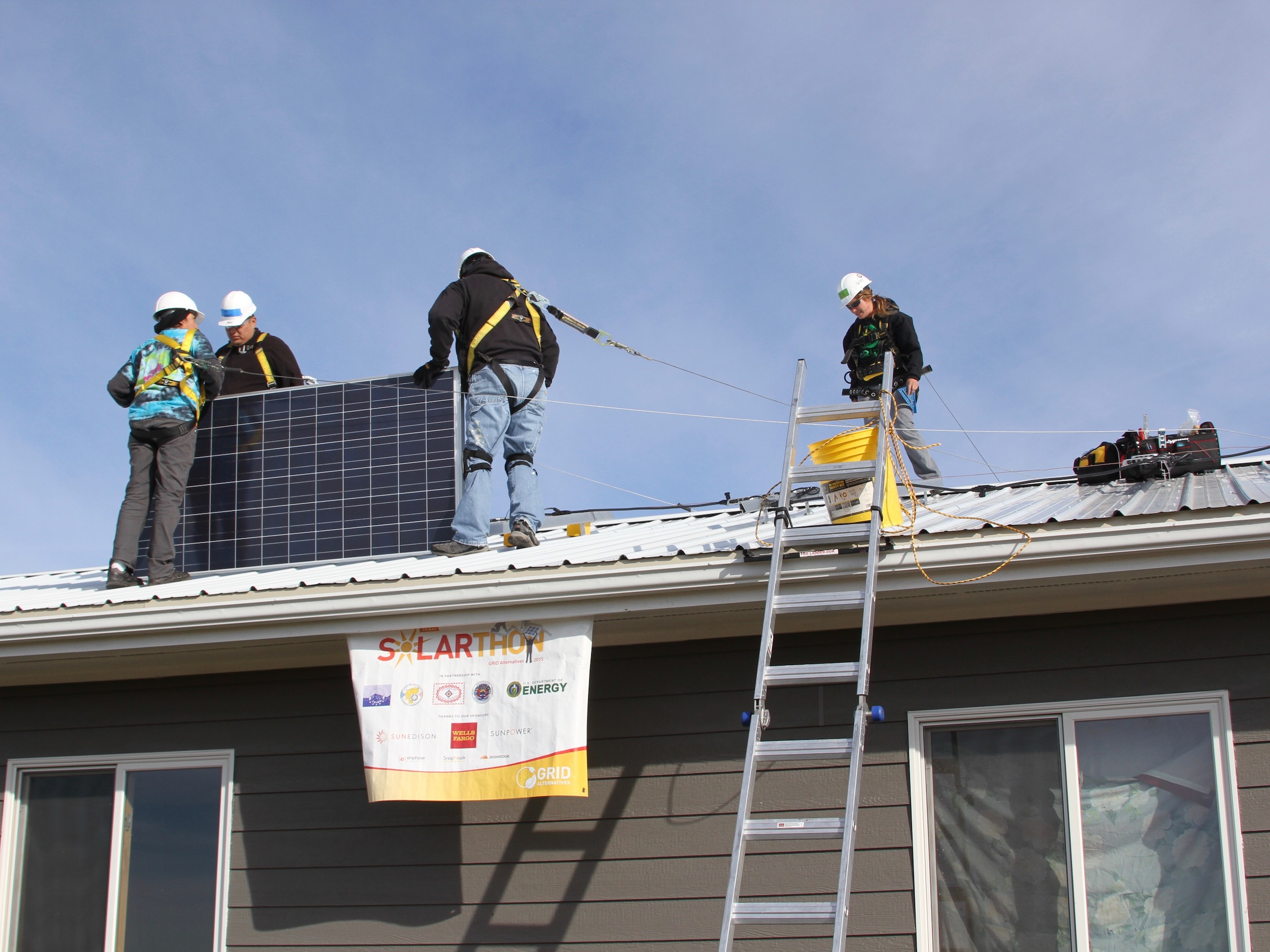 Lakota Country Times: Rosebud Sioux Tribe brings in solar power