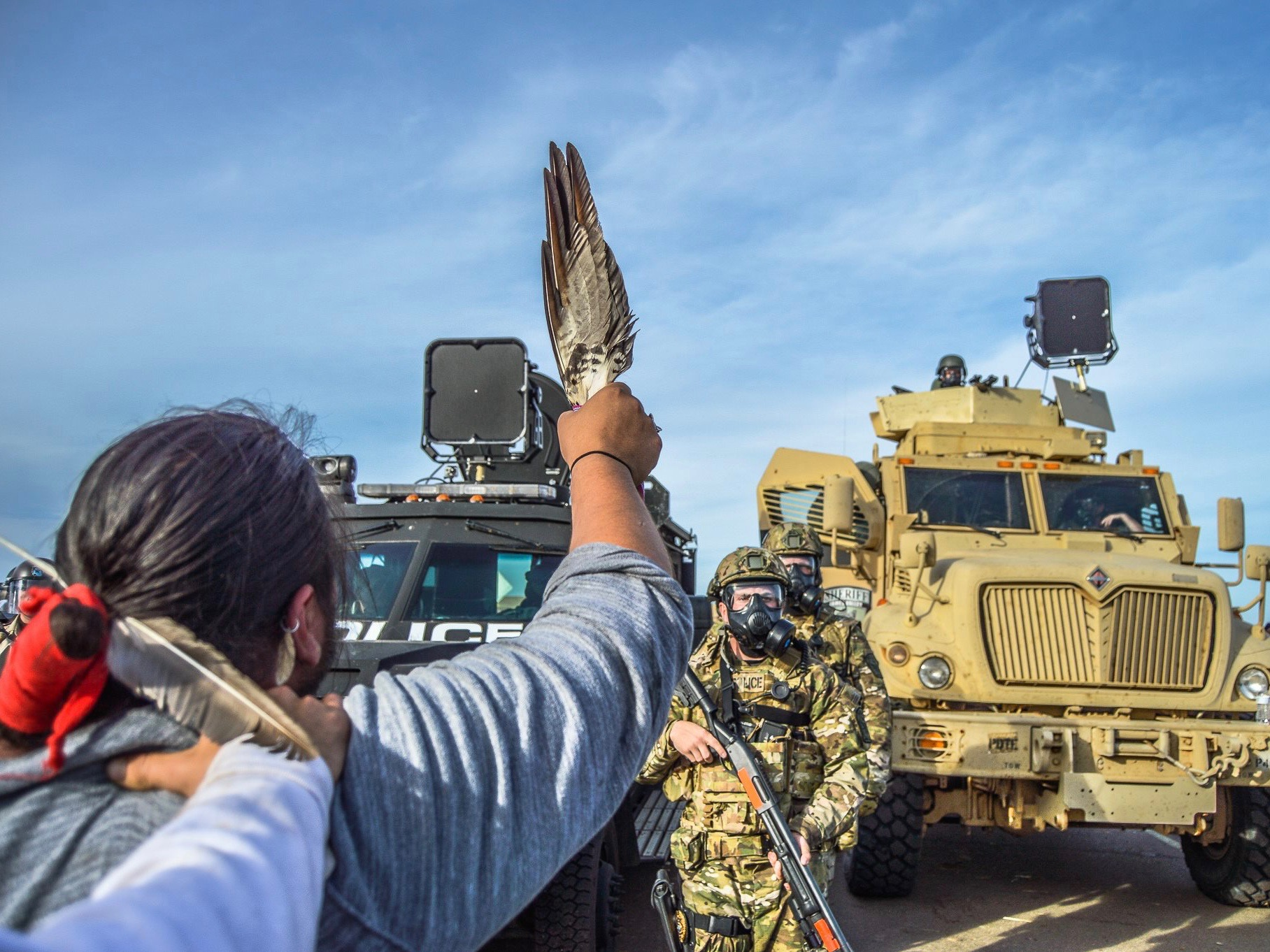 Winona LaDuke, Ann Wright and Zoltan Grossman: Open letter to law enforcement and National Guard in North Dakota