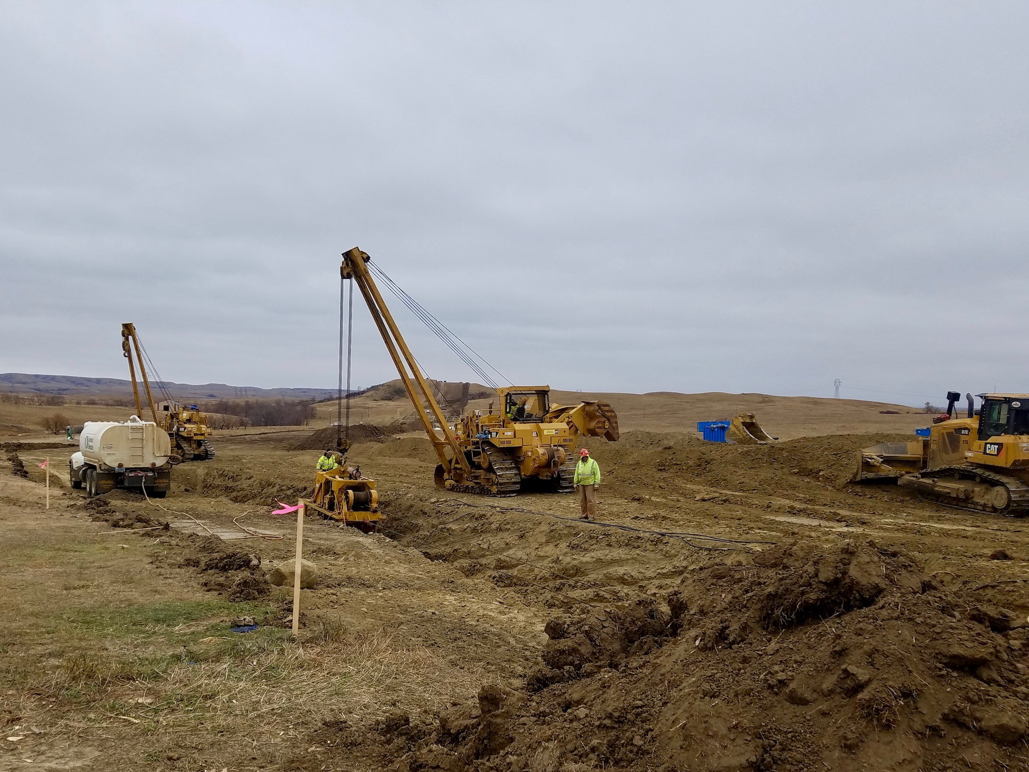 North Dakota panel opens probe into Dakota Access Pipeline disturbance