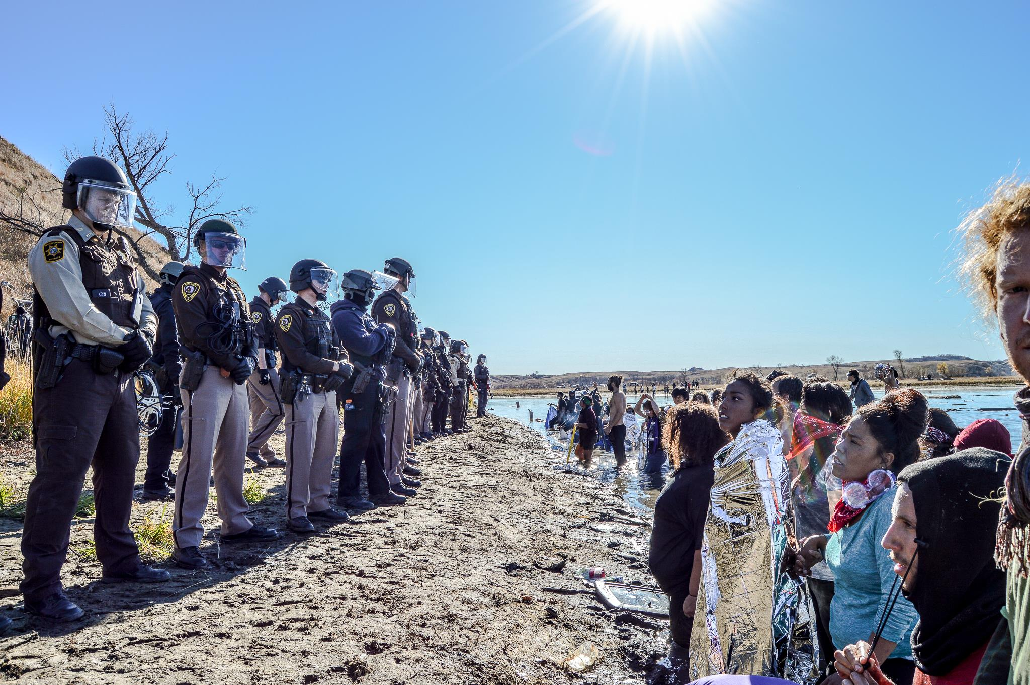 Ivan Star Comes Out: #NoDAPL crackdown hinders reconciliation efforts