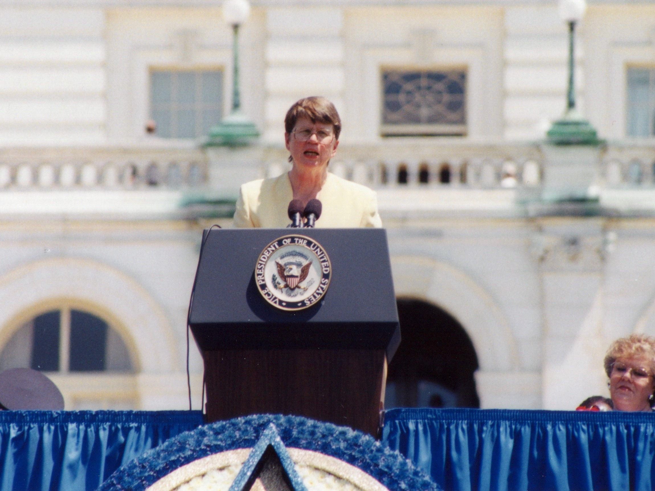 Oglala Sioux Tribe credits the late Janet Reno for Indian Country initiatives
