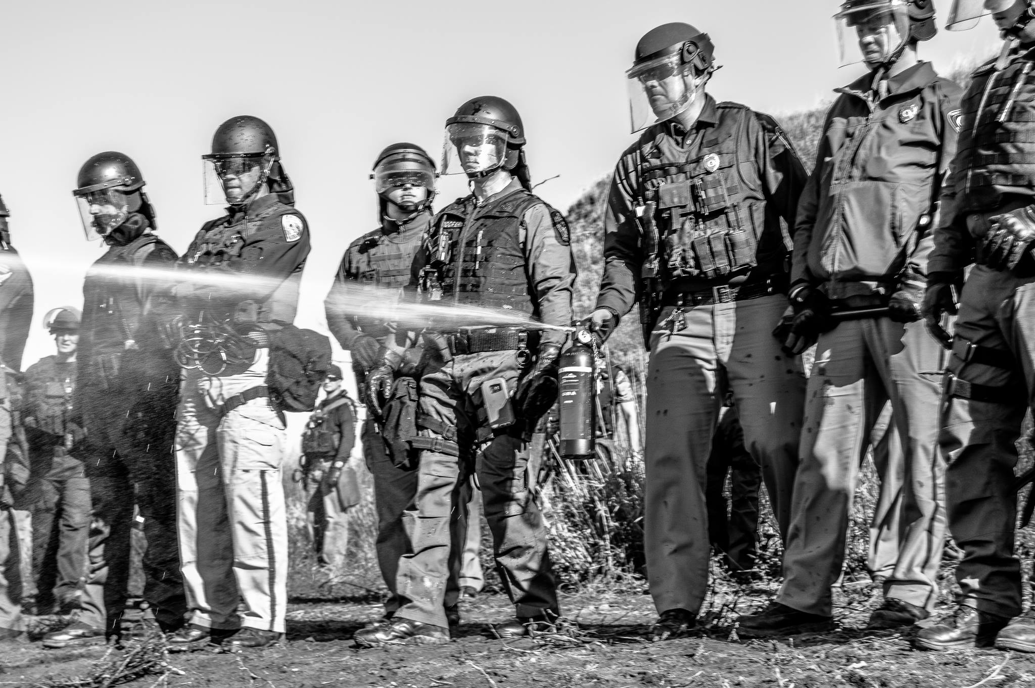 Elizabeth Cook-Lynn: Violence against water protectors follows a familiar pattern