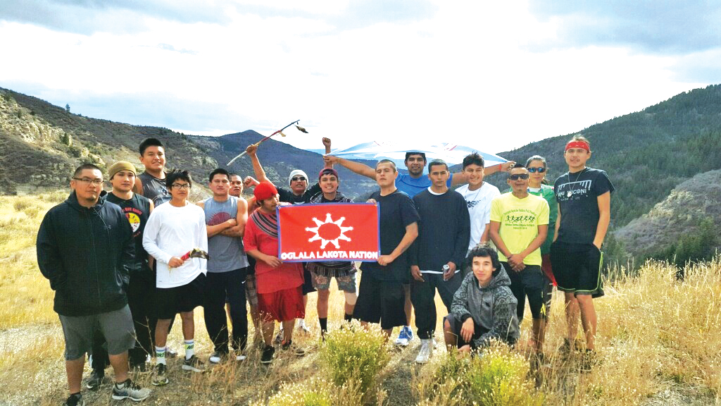 Native Sun News Today: Native youth lead 1400-mile run to Standing Rock