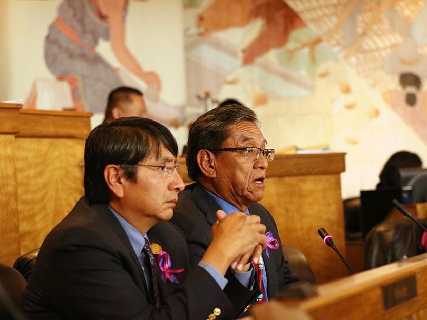Navajo Nation leaders congratulate Donald Trump on big victory