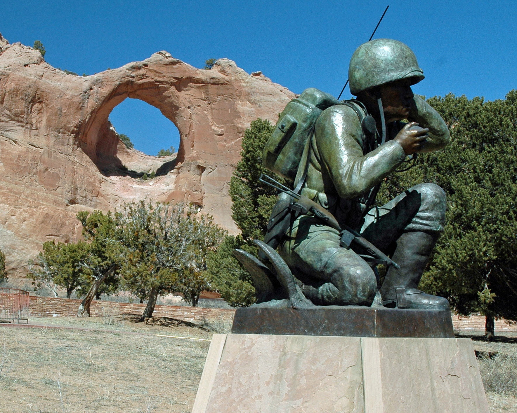 Navajo Nation mourns passing of Code Talker George Paul James