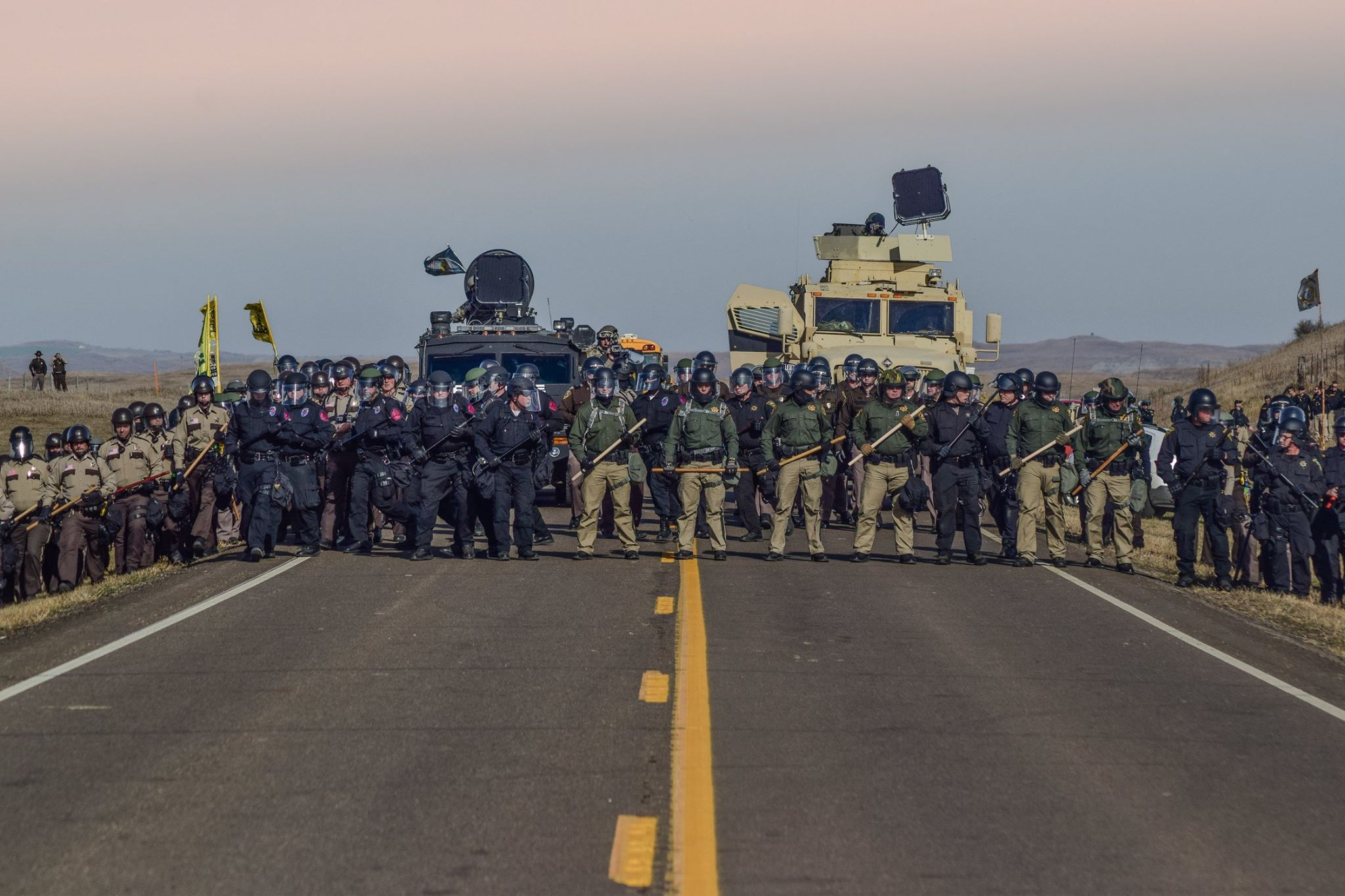 Ivan Star Comes Out: Water protectors treated like terrorists
