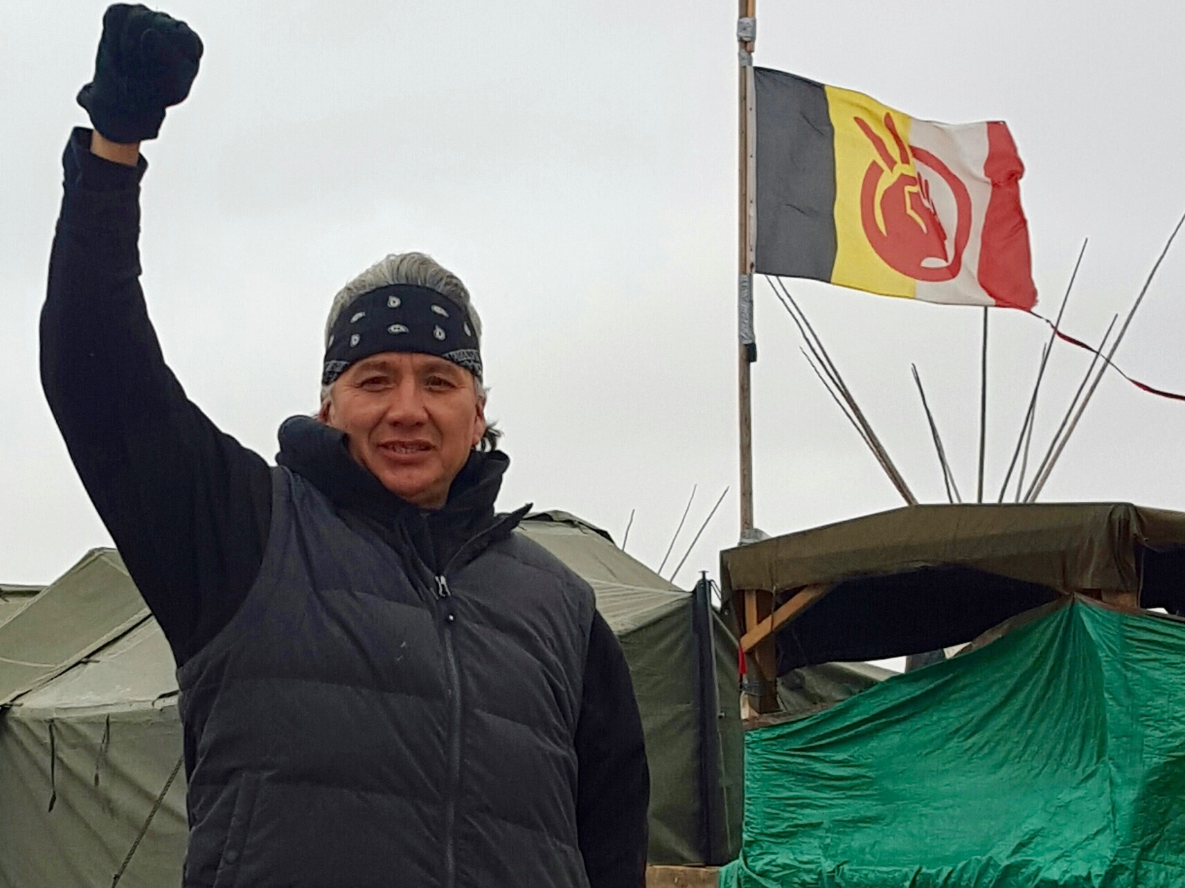 Lakota Country Times: On the #NoDAPL front line in North Dakota