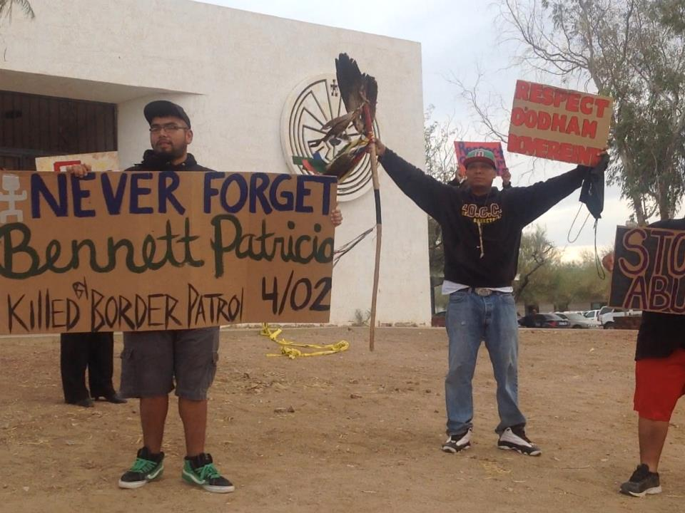 Tohono O'odham Nation reaffirms strong opposition to border wall