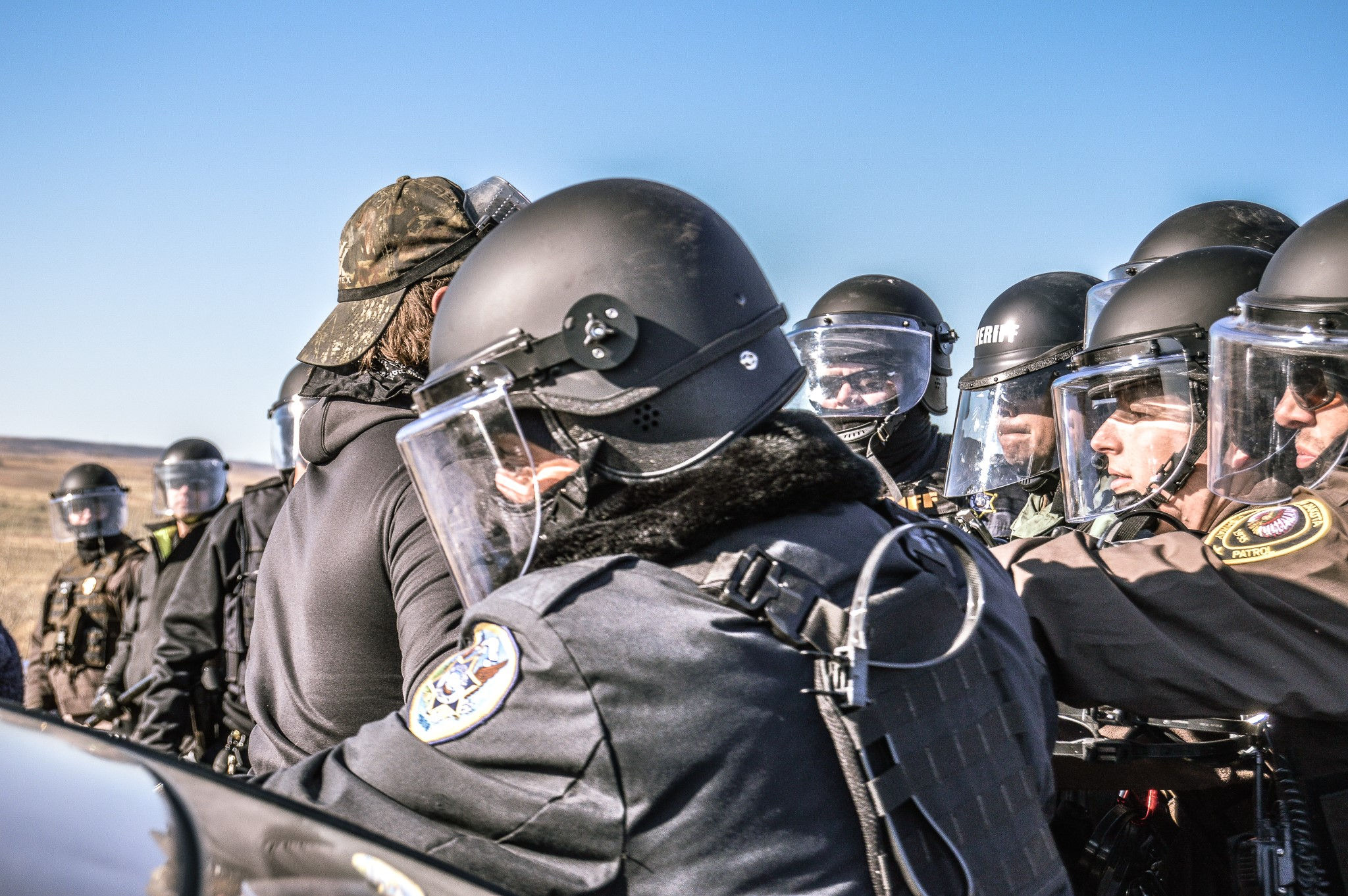 Brandon Ecoffey: South Dakota officers abuse water protectors