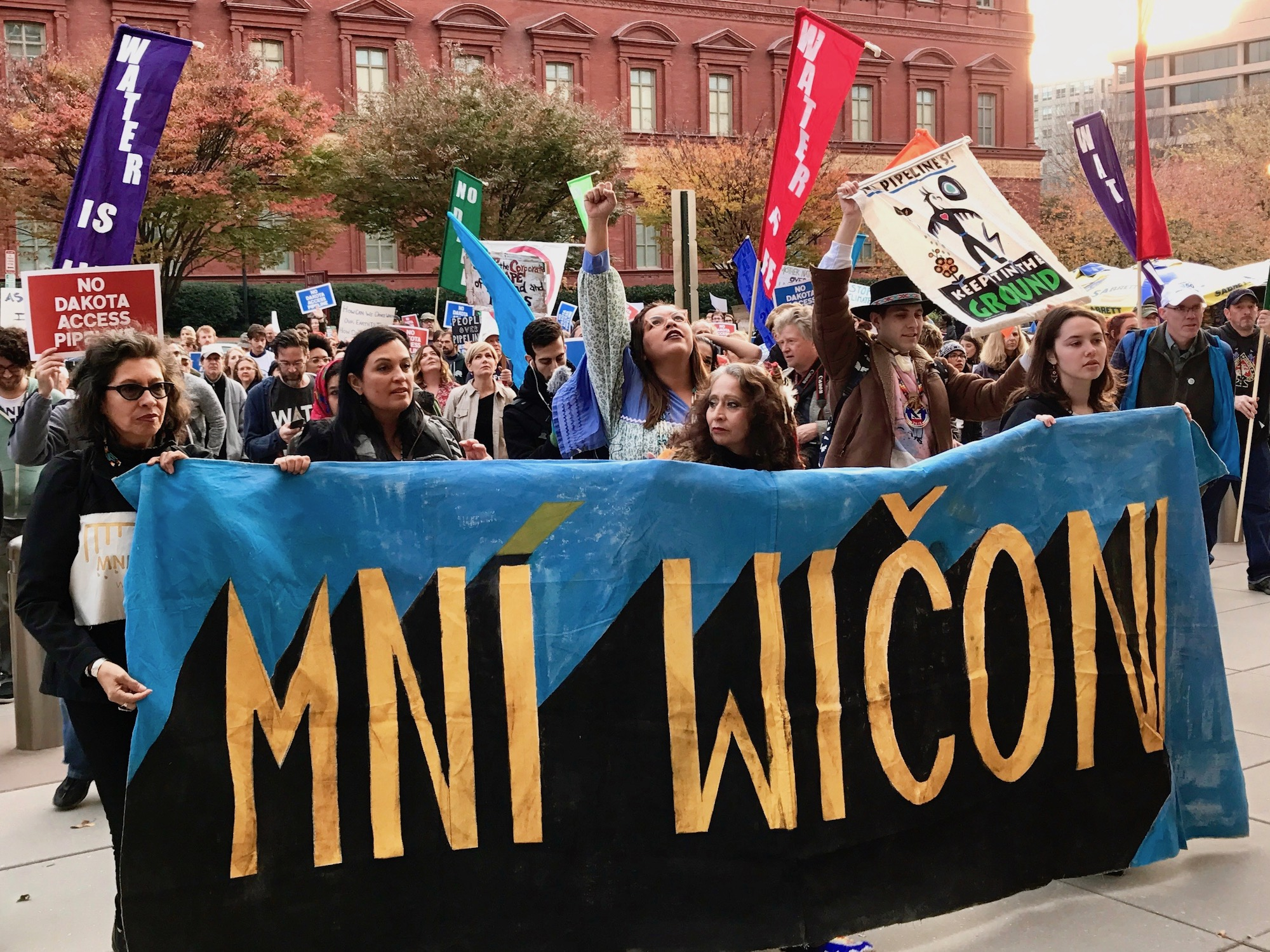 Michelle LaPena: Lessons from the movement at Standing Rock