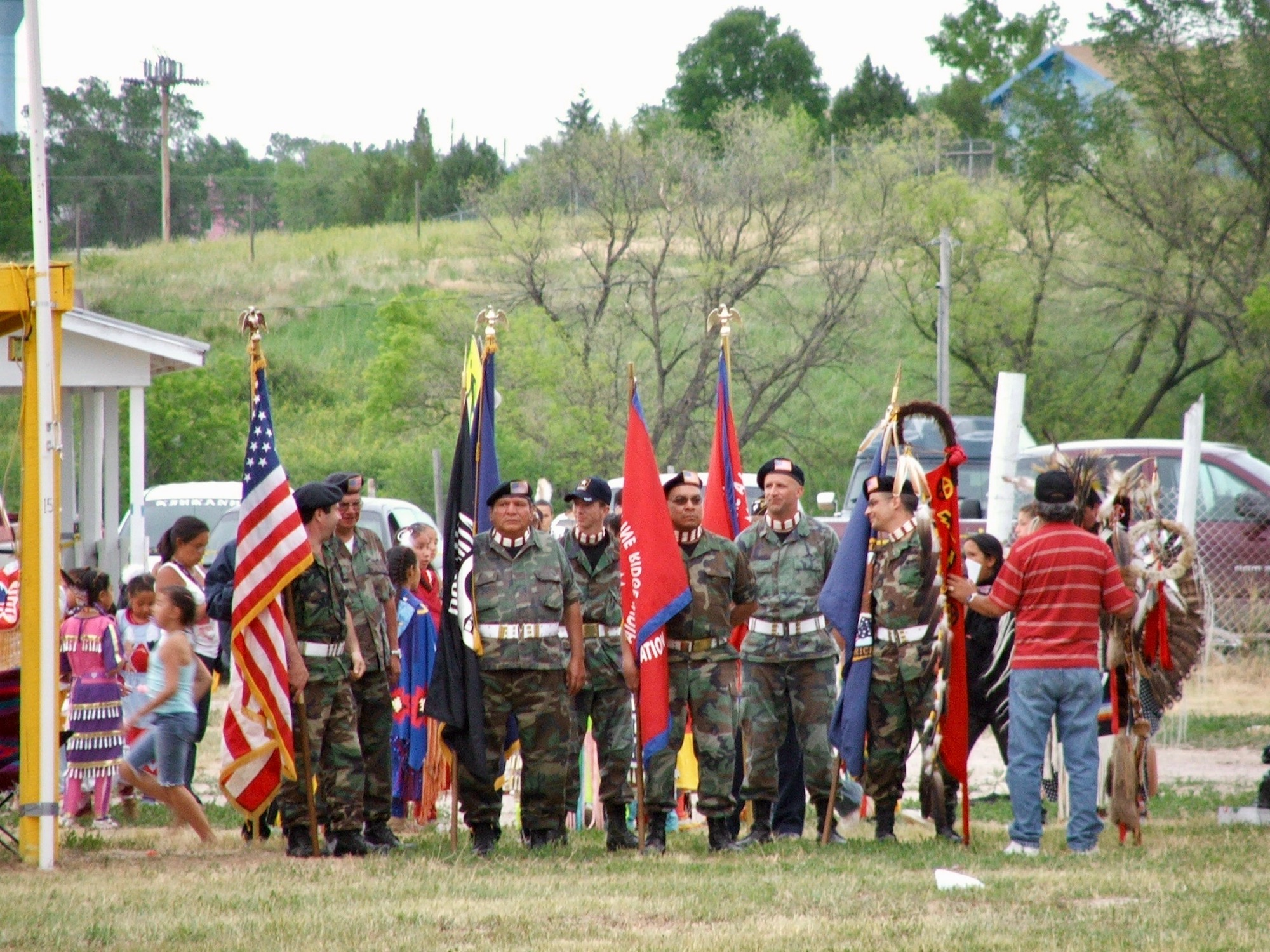Native Sun News Today: Pine Ridge school honors tribal veterans