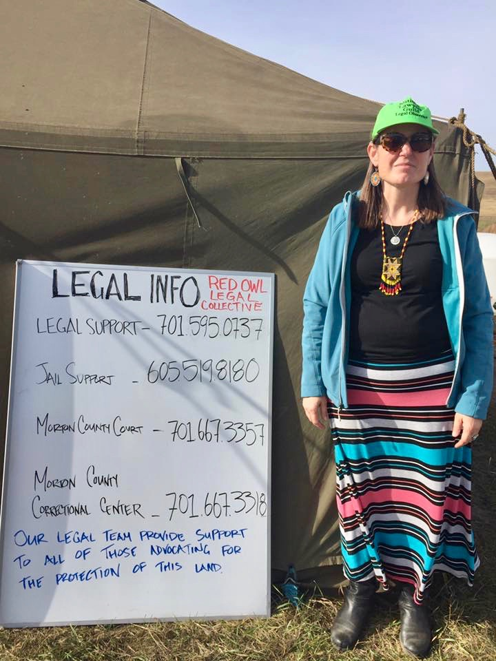 Steffani Cochran: #NoDAPL water protectors need legal services