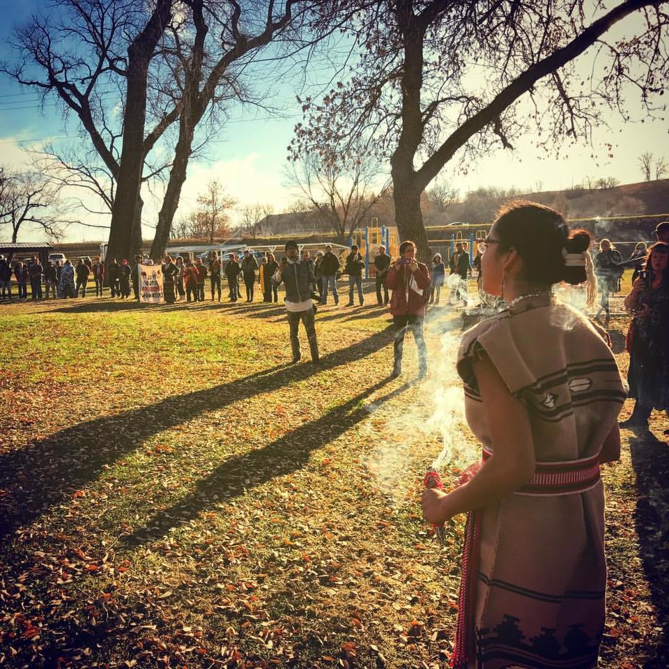 Vi Waln: Water protection walk urges forgiveness amid #NoDAPL crackdown