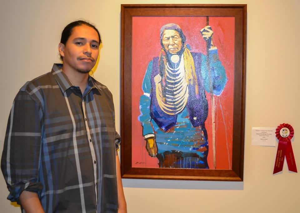 Lakota Country Times: Indian school hosts 'Horse Nation' exhibit