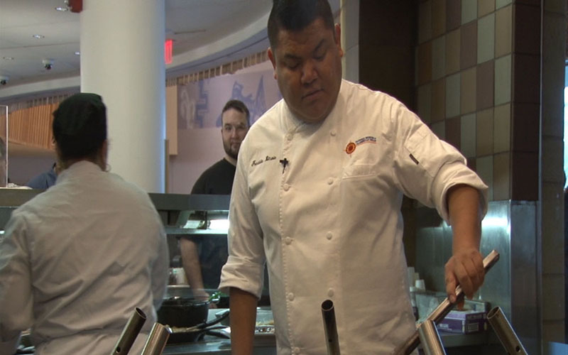 Cronkite News: Navajo chef takes helm at NMAI in nation's capitol