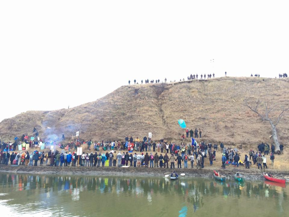 Large veterans group heads to #NoDAPL frontline in North Dakota
