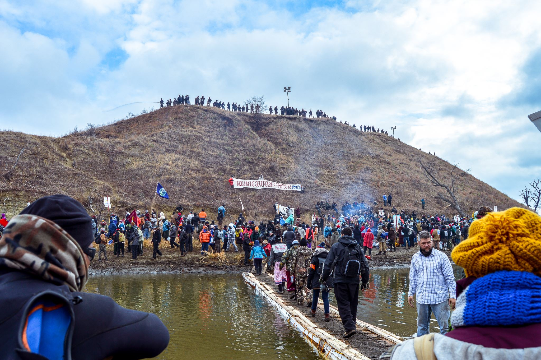 Dana Lone Hill: A big 'wopila' to all the #NoDAPL water protectors