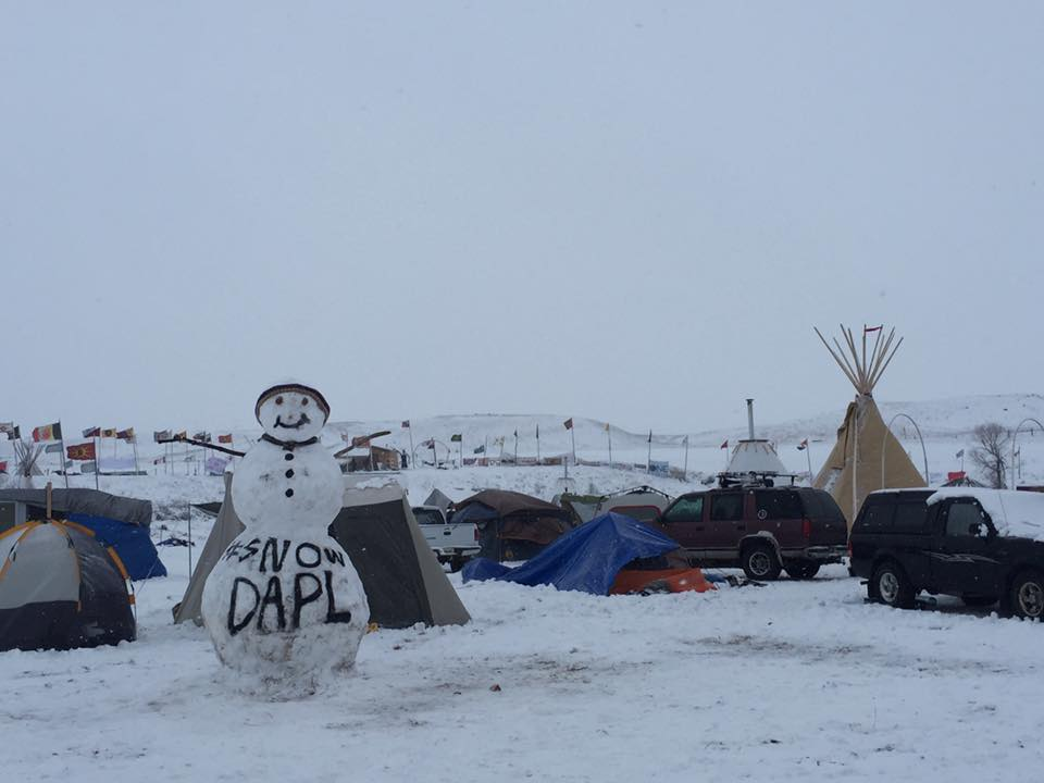 Standing Rock Sioux Tribe calls for safety as veterans head to #NoDAPL camp
