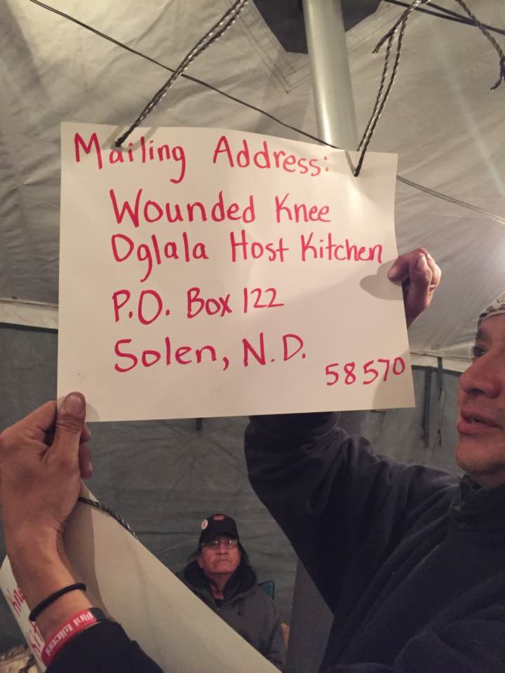 Lakota Country Times: #NoDAPL kitchen in need of more supplies