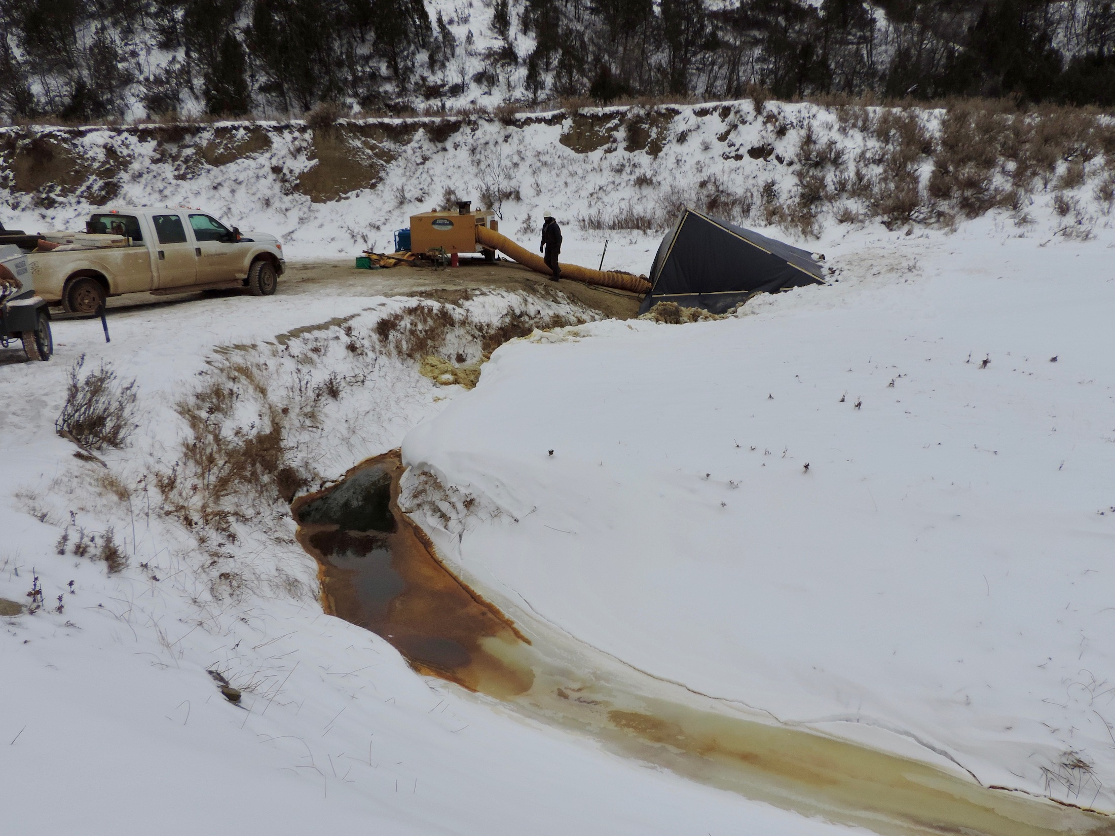 North Dakota pipeline spill occurred near Missouri River system