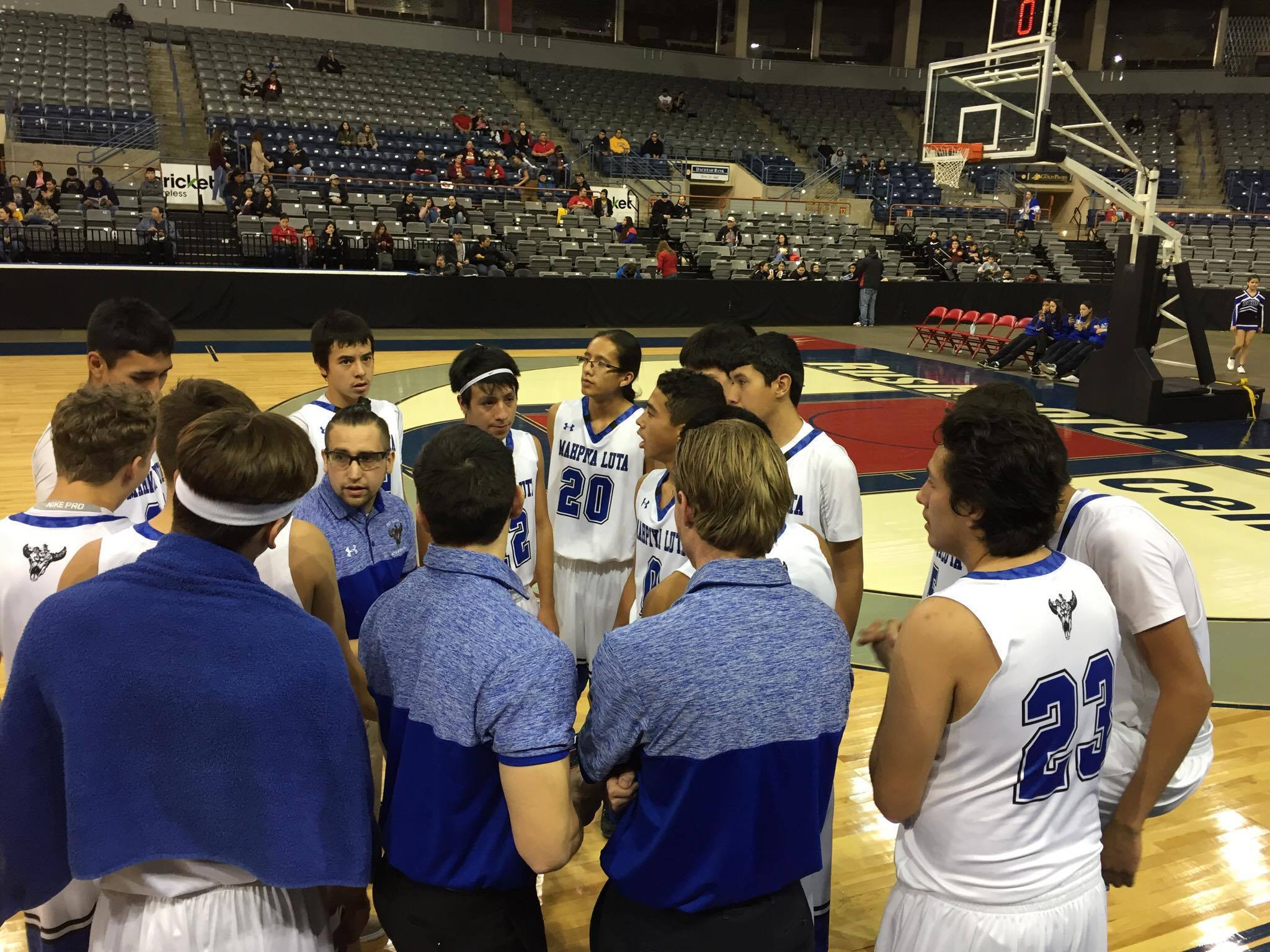 Lakota Country Times: Red Cloud team stands out on the court