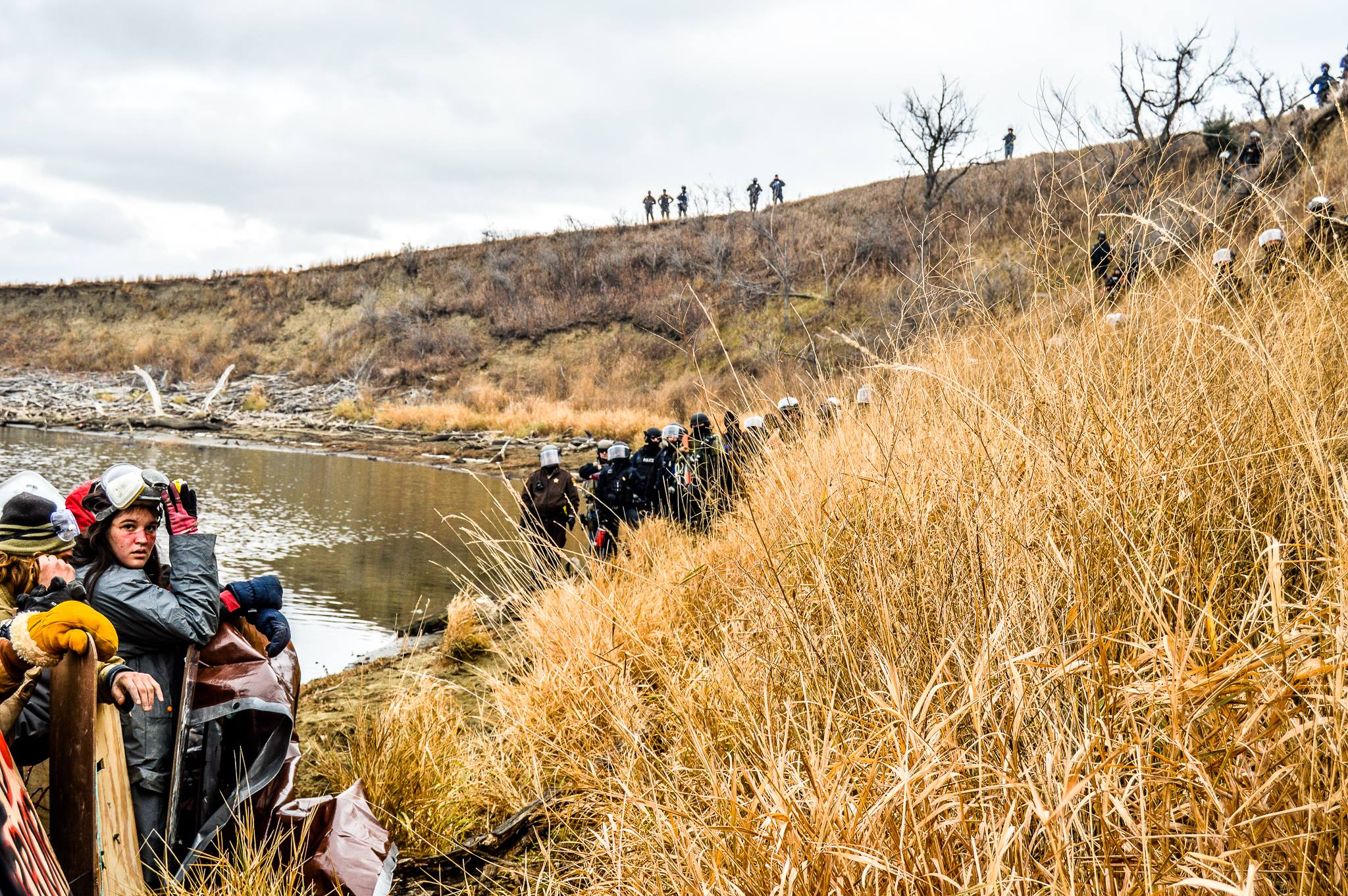 Ivan Star Comes Out: Fascist police resurface at Standing Rock
