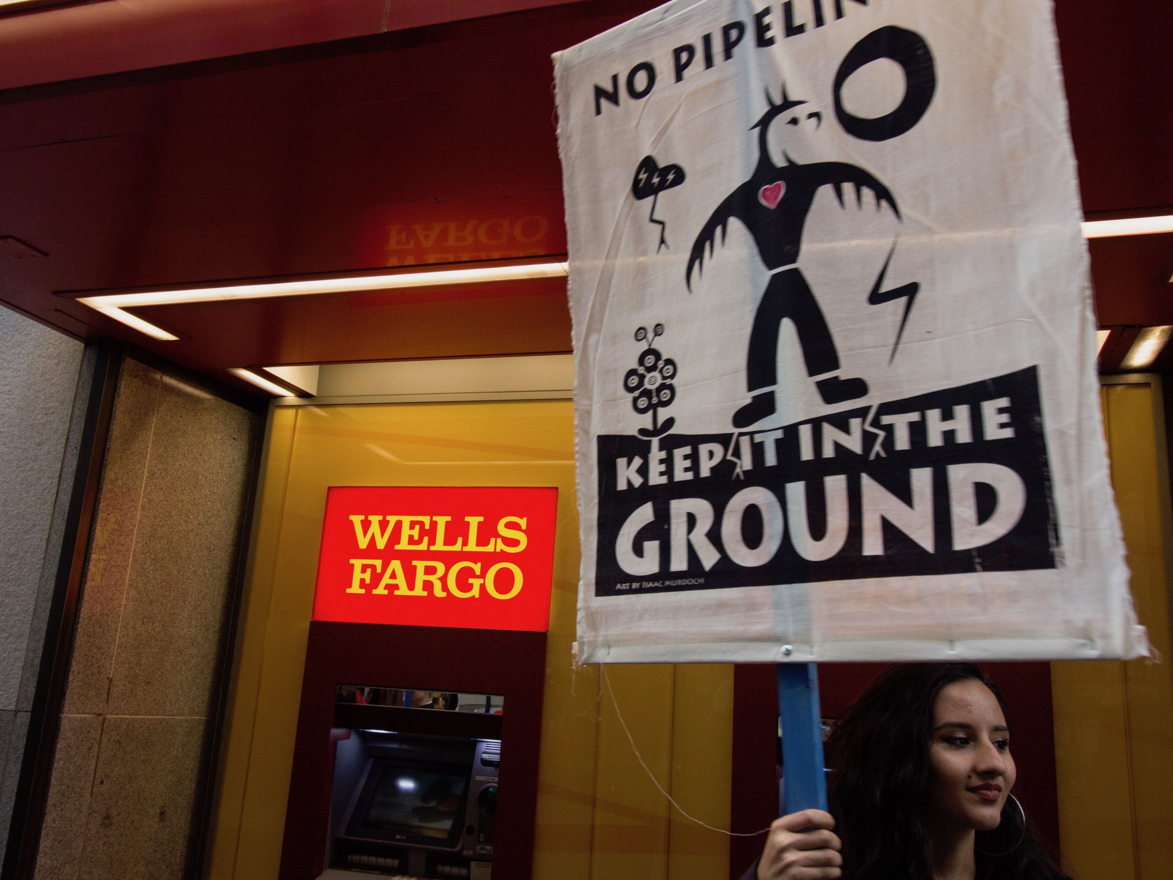 YES! Magazine: Native activists continue to pressure banks on pipelines