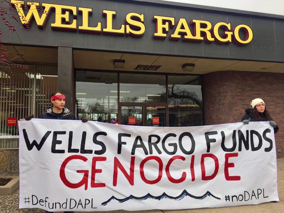 Mille Lacs Band divests from Wells Fargo over financing for Dakota Access Pipeline