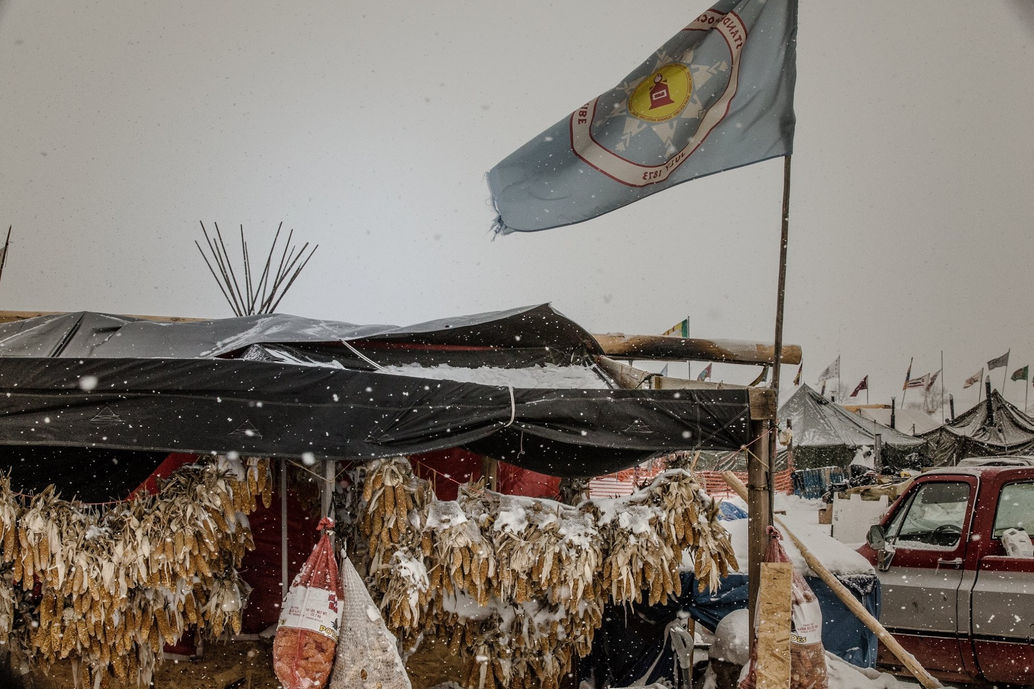 Denver American Horse: Water protectors are always in my prayers