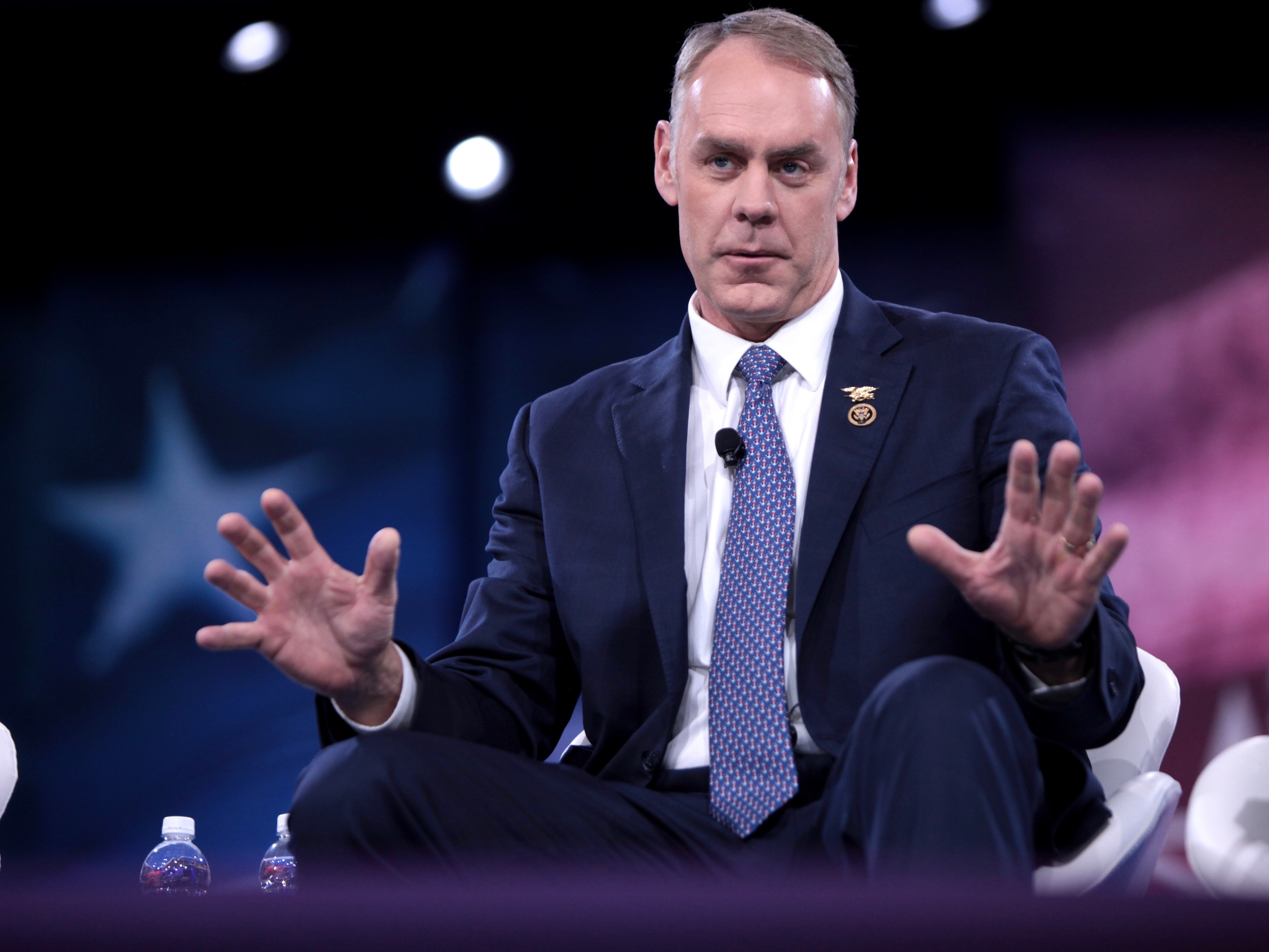 Interior nominee Ryan Zinke heads toward confirmation in Senate