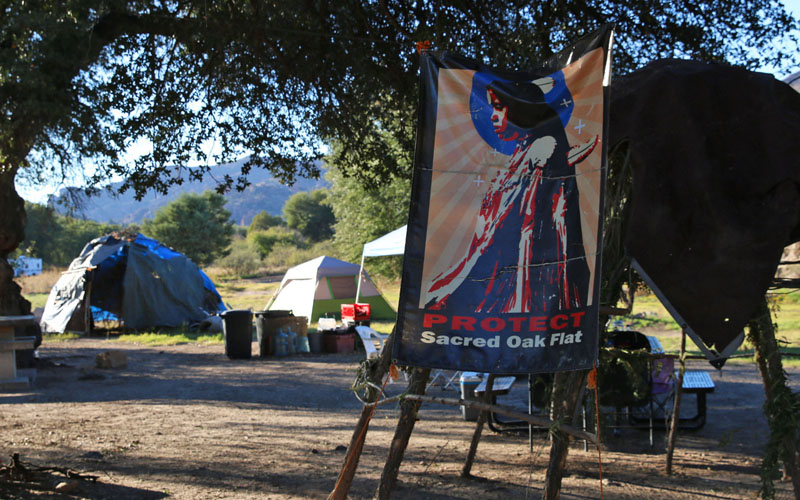 Cronkite News: San Carlos Apache Tribe fights mine at sacred site