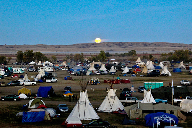 Desiree Kane: Photos from seven months of living at Standing Rock