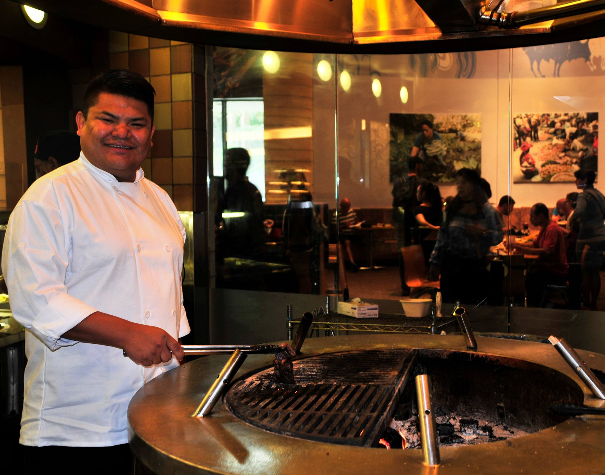 New chef brings Native perspective to popular Smithsonian eatery