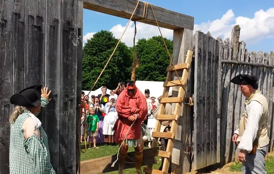 Mary Annette Pember: Group re-enacts hanging of Native man in 1785