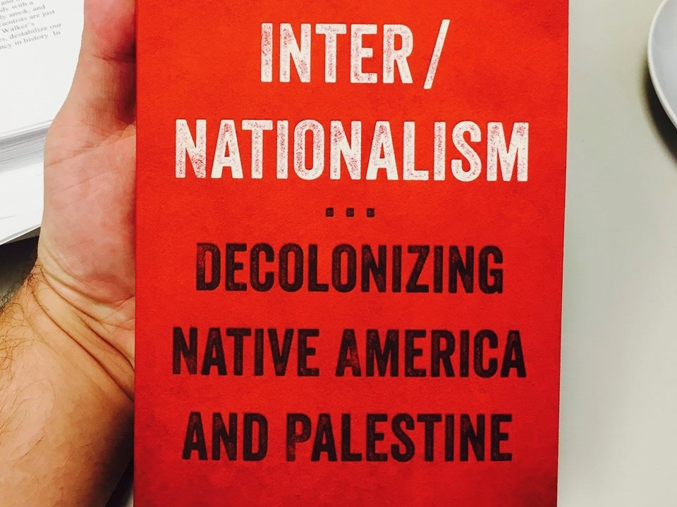 Peter Derrico New Book Connects Native America With Palestine