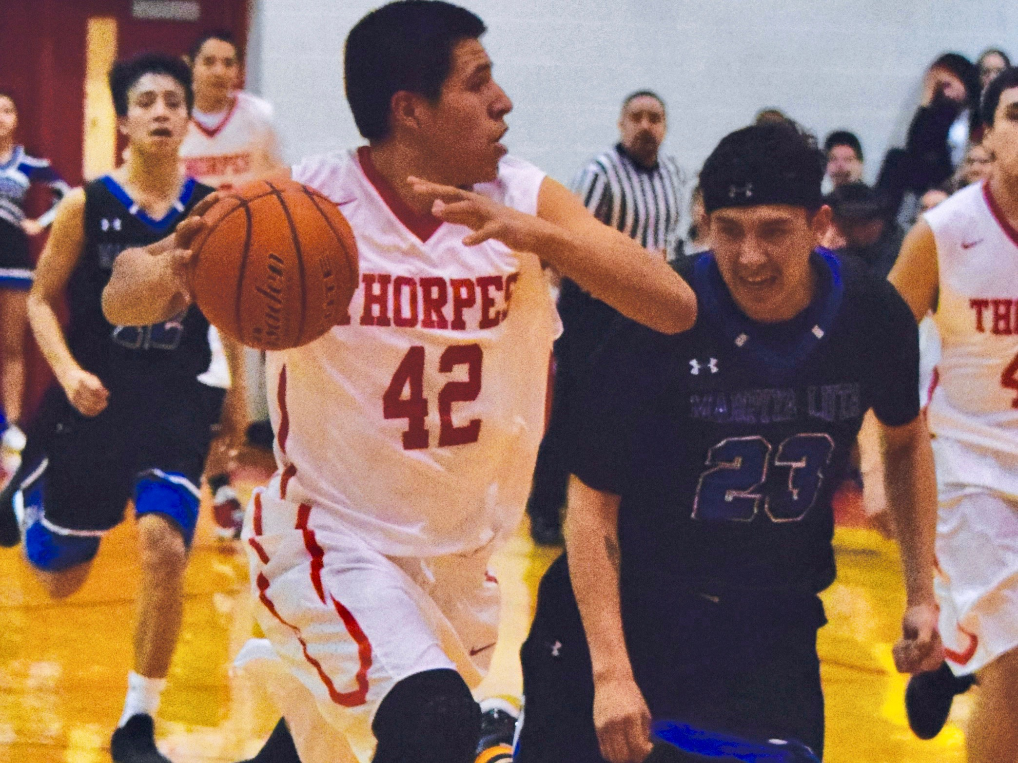 Native Sun News Today: Pine Ridge teams fight it out at the buzzer