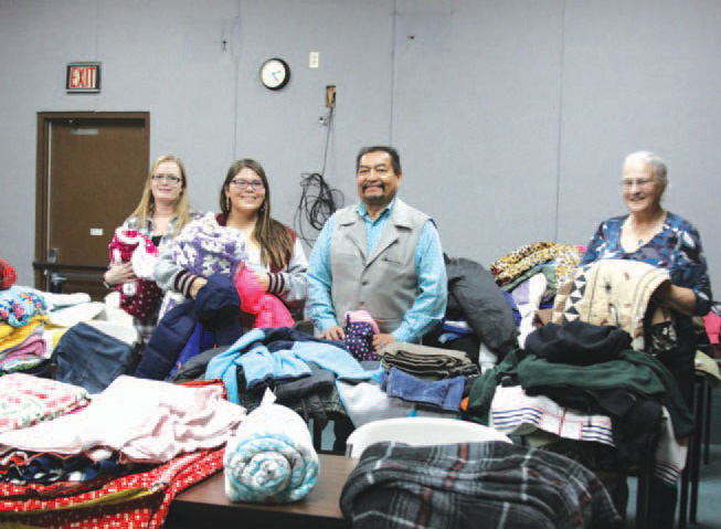 Native Sun News Today: School donates to Northern Cheyenne elders and youth