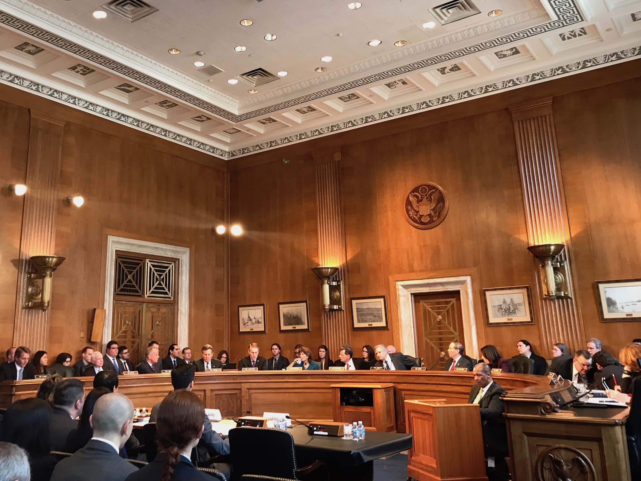 Senate Committee on Indian Affairs advances nine bills at first meeting