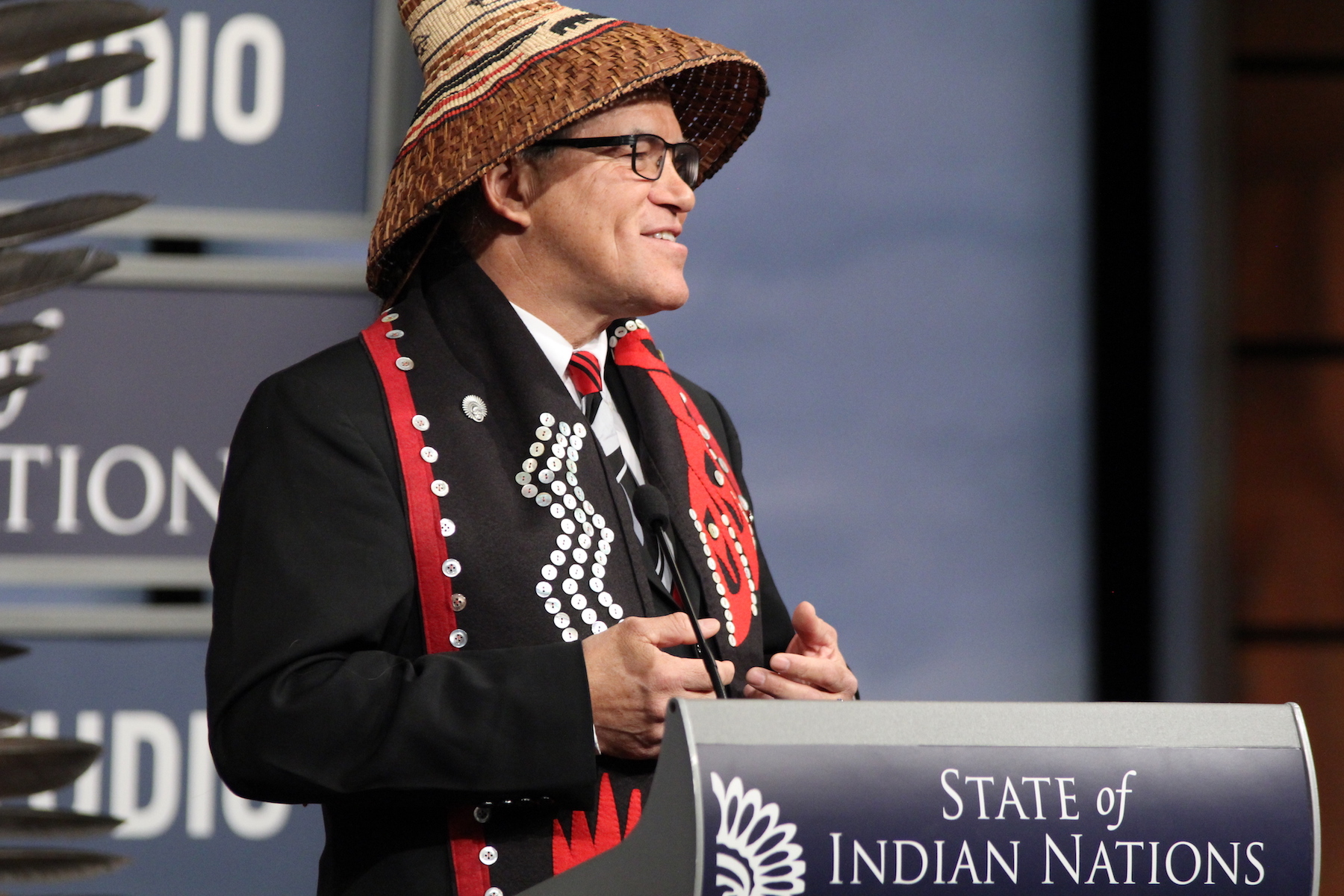 First State of Indian Nations address in the new Donald Trump era